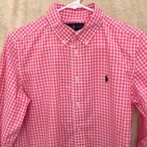 Ralph Lauren Unisex size L(14-16) button down